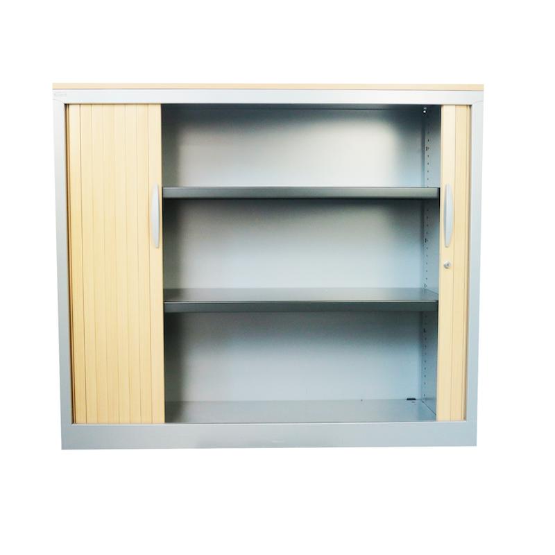 armoire basse majencia top en bois bureau fut. Black Bedroom Furniture Sets. Home Design Ideas